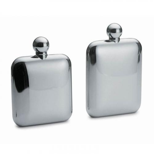 Steklenička brušeno polirano kromirano - Ground, polished and chrome plated bottles - Flaschen – geschliffen, poliert und verchromt
