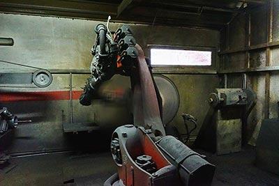 Robotska obdelava kovin